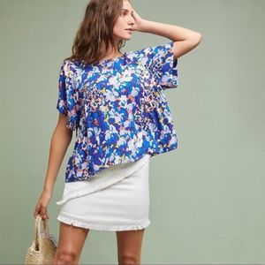 Anthropologie | Maeve Floral Milla Blouse